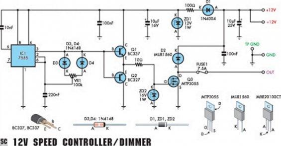 Регулятор оборотов электродвигателя 12в на транзисторе своими руками фото 115