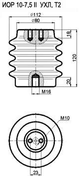 Золятор опорний иотб 10 розшифровка маркировки